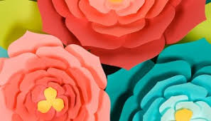 Make Easy Paper Flower How To Make Tissue Paper Flowers Four Ways Hey Lets Make