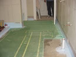 floor spot heating mat