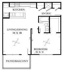 One Bedroom Apartment Open Floor Plans Fresh In Cute Charming - Rental apartment one bedroom apartment open floor plans