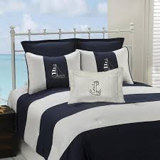 nautical themed bedding. Beautiful Bedding Navy Nautical Stripe Bedding For Nautical Themed Bedding A