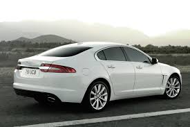 White Jaguar XF  X