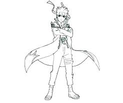 Naruto Color Pages Coloring Pages Nine Tailed Fox Page Tails Mode