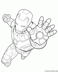 Small Picture Coloring page Hawkeye