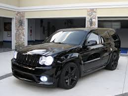 All blacked out Jeep SRT8 with HIDs | Cars | Pinterest | Jeep ...