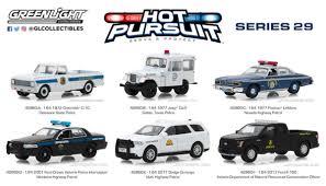 Green Light Cop Cars Greenlight 1 64 Hot Pursuit Police Cars Set Series 29