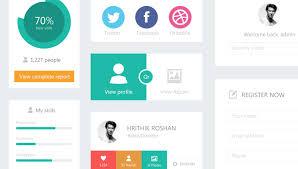 Flat Ecommerce Design Inspiration Flat Design Ui Kit Free Download Webdesigner Depot
