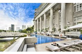 infinity pool singapore hotel. The Fullerton Hotel Infinity Pool Singapore Hotel O