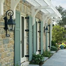 farrow and ball exterior paint inspiration. farrow and ball green blue french shutters exterior paint inspiration