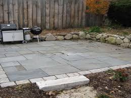 simple patio designs with pavers diy