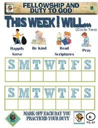 2 Week Duty Chart Pic Cub Scouts Wolf Scouts Cub Scouts