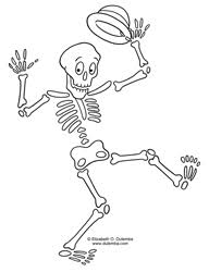 Small Picture Halloween Skeleton Coloring Pages Festival Collections