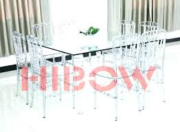 clear acrylic dining table round and chairs uk lic suppliers perspex base
