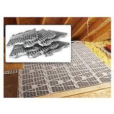 Attic Dek Flooring Pack Of 4 Panels Gray 24