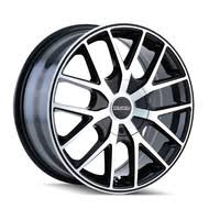 5x110 Bolt Pattern Amazing 48x48 Car Wheels Rims Wide Selection Black Chrome More