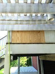 how to fix rotted wood deck repair rotten wooden window frame post door bottom beams garage