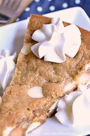 white chocolate macadamia nut cookie cake the perfect treat for birthday parties or