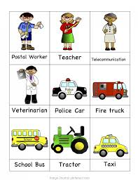 Excellent Community Helpers Chart Printables Preschool