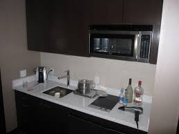 Mini Kitchen With Counter Space Sink Microwave Minifridge Mini Kitchen Sink