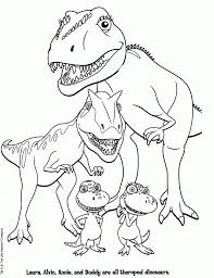 Dinosaur coloring pages for kids: Free Printable Dinosaur Train Coloring Pages Printable Cute Coloring Home