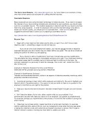 Summary For Resume Examples Qualification Summary Resumes