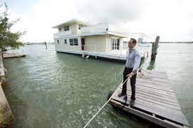 Floating Home Manufacturers Owner Of Florida Floating Home Still Fighting City Over Compensation