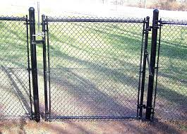 chain link fence double gate. Chainlink Fence Gate Double Chain Link Design Plans  Lovely .