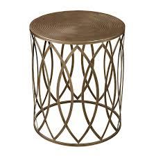 gold drum table gold drum side table magnificent ideas home design 13 gold drum coffee table