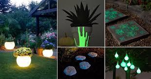 16 magical diy glow in the dark ideas for the garden balcony garden web