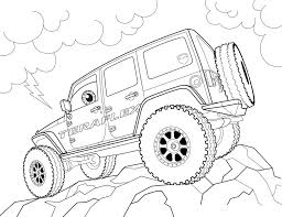 Small Picture Free Jeep Coloring Pages To Print httpprocoloringcomfree jeep