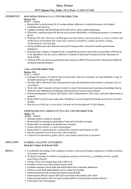 Call Center Director Resume Sample call center director resume Minimfagencyco 10