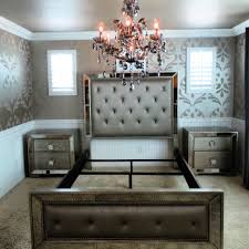 bedroom with mirrored furniture. Bronze Mirrored Bedroom Furniture With D