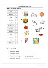 Worksheets. Vocabulary Matching Worksheet. Opossumsoft Worksheets ...