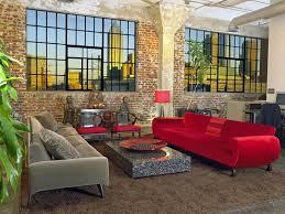 red living room interior design ideas 14