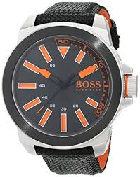 hugo boss orange mens quartz watch analogue classic display and hugo boss orange mens quartz watch analogue classic display and rubber strap 1513116