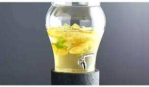 3 gallon drink dispenser gallon chill cell beverage dispenser 3 gallon springfield glass beverage dispenser with