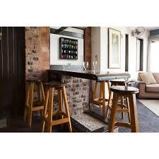 pinnacle shot glass case 19 in w x 3 5 in d black decorative shelf