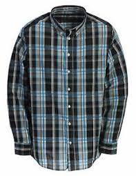 Details About Gioberti Mens Long Sleeve Plaid Big Tall Shirt