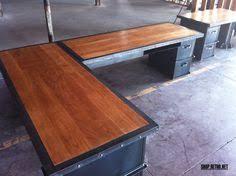 industrial office desks. Vintage Industrial Inspired Furniture Office Desks