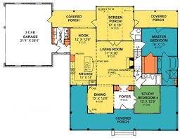 Open Floor Plan Modern Farmhouse Southern House Plans Beautiful Country Style Open Floor Plans