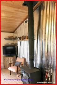how to cut corrugated metal how to use corrugated tin metal sheets as an accent wall how to cut corrugated metal