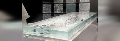glass countertop thickness 96mm