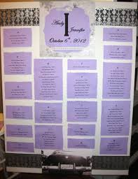 Make A Seating Chart Make Your Own Wedding Reception Seating Chart Mine Is Alphabetical