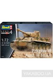 <b>Сборная модель Revell</b> Немецкий <b>танк</b> PzKpfw VI Tiger (RV03262 ...