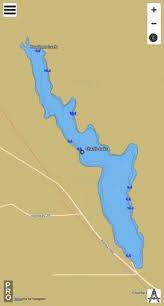 Charlie Lake Fishing Map
