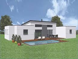 maison contemporaine plain pied toit plat plan maison contemporaine plain pied inspiré maison moderne plan