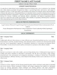 Attorney Resume Template Fascinating Lawyer Resume Template Rabotnovreme