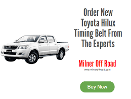 How To Change Toyota Hilux Timing Belt | The Ultimate Guide