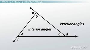 Angl Es Remote Interior Angles Definition Examples Video Lesson