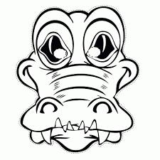 Maskers Dieren Kleurplaten Animaatjesnl Nieuwe Kleurplaten