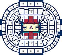 Arizona Mckale Center Seating Chart Disability Access Information University Of Arizona Athletics